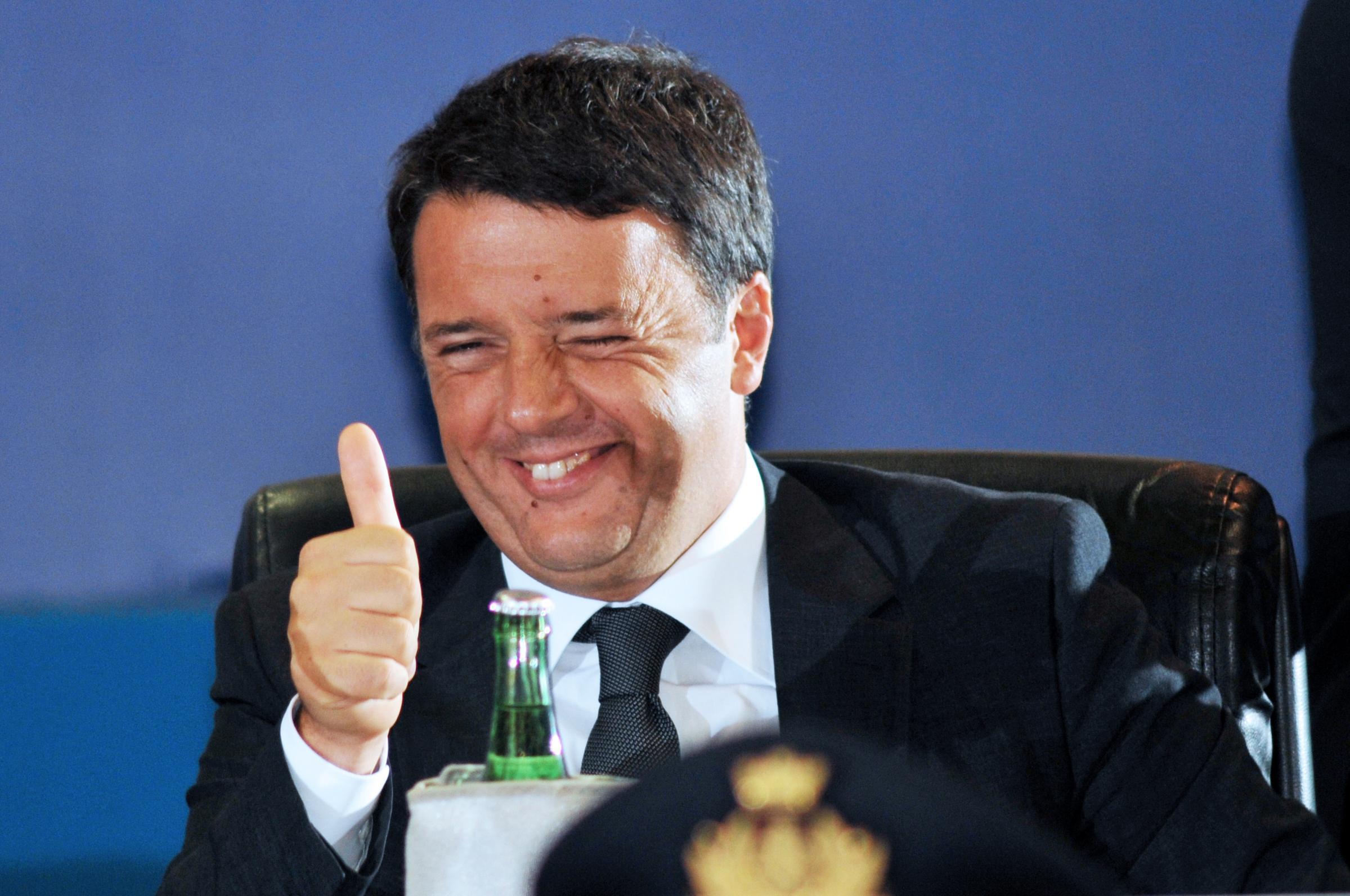 Torno e ritorno; il viaggio incredibile di Renzi.