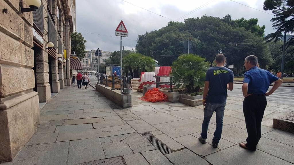 Sottopasso Cadorna - Via Fiume
