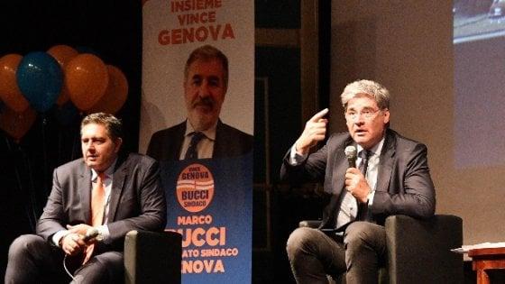 Del Debbio e Toti per Marco Bucci