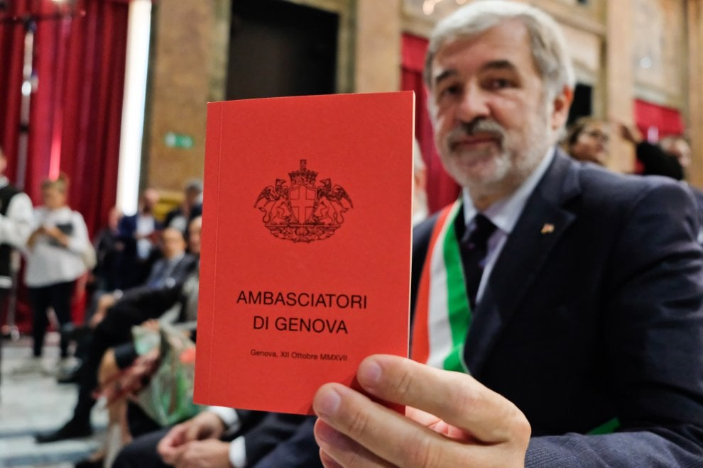 Bucci e gli ambasciatori di genova. E le ambasciatrici?