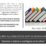 Dona un libro alla Biblioteca Saffi di Genova Molassana