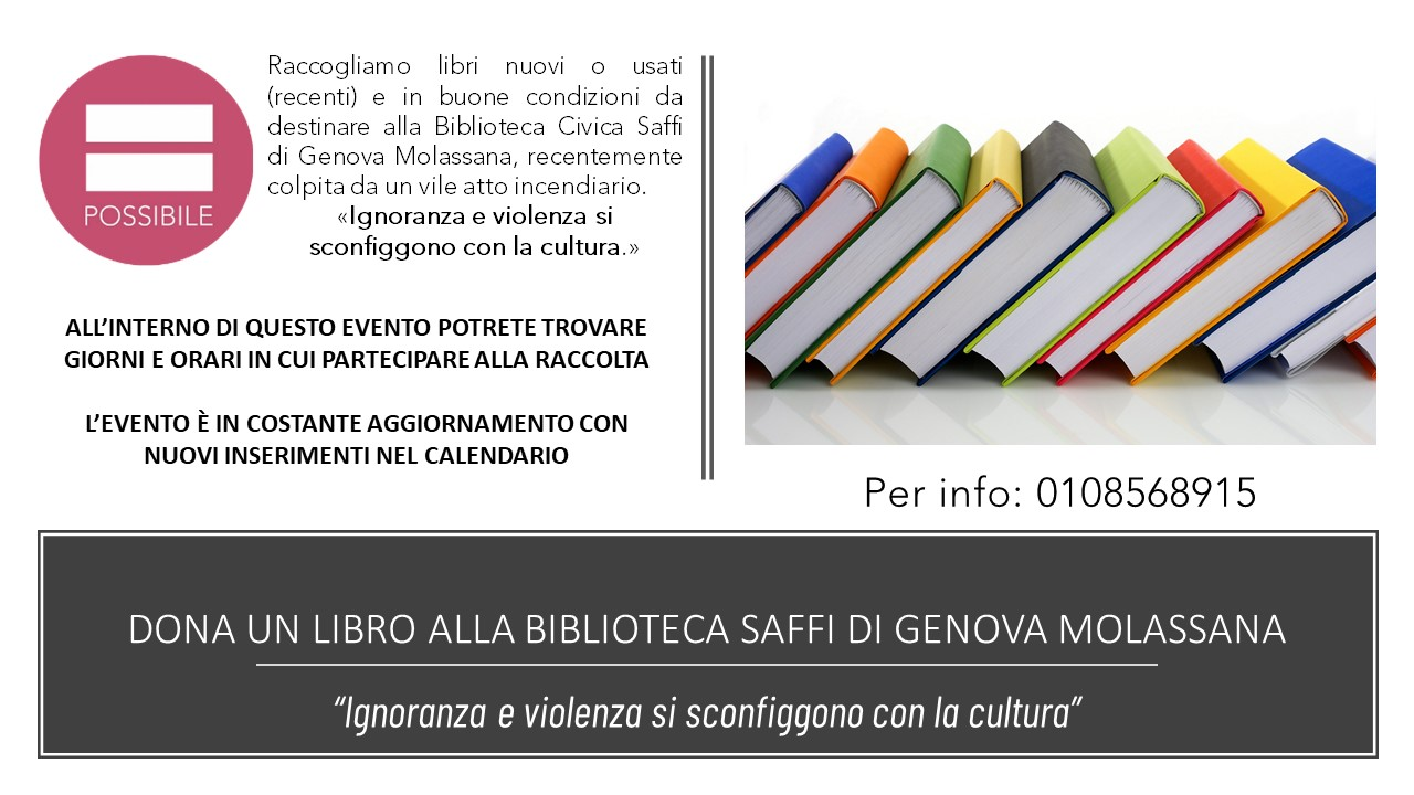 Biblioteca Saffi Genova Molassana