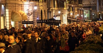 Marcia silenziona Comunità Ebraica Genova - Bucci