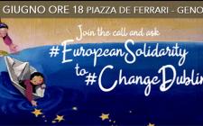 La grande mobilitazione europea, domani anche a Genova #changeDublin