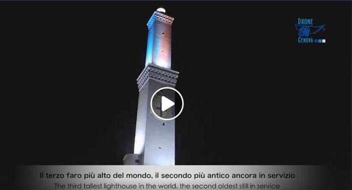 Lanterna, Drone Genova