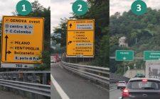 Raccordo A12-A7 Nord: cartellonistica confonde su Porto di Prà; Bolzaneto rischia di diventare un tappo