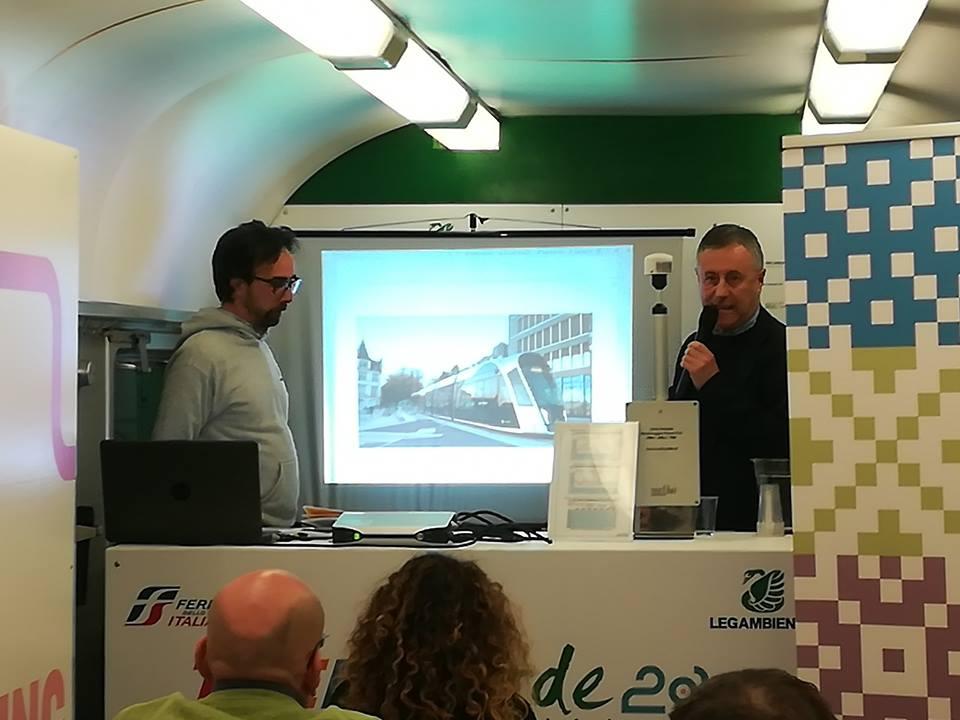 Treno Verde 2019; Politiche, programmi ed azioni per miglioramento qualità dell'aria e performance ambientali della Città