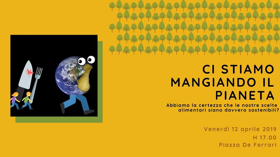 Tea Time Fridays For Future - Ci stiamo mangiando il Pianeta