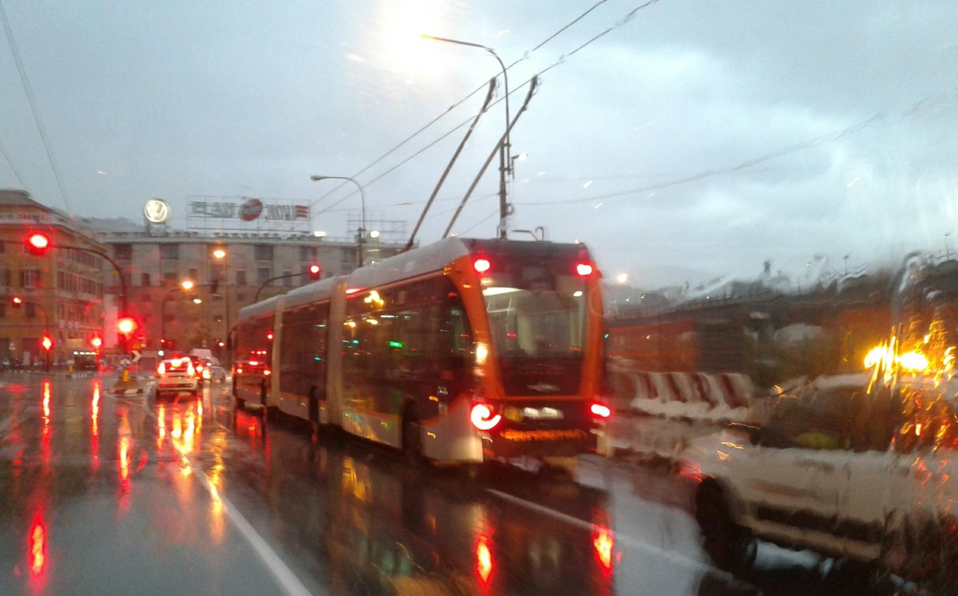 Genova - Le promesse del Sindaco e il filobus invece del tram