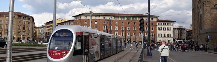 Tram; impressioni da Firenze