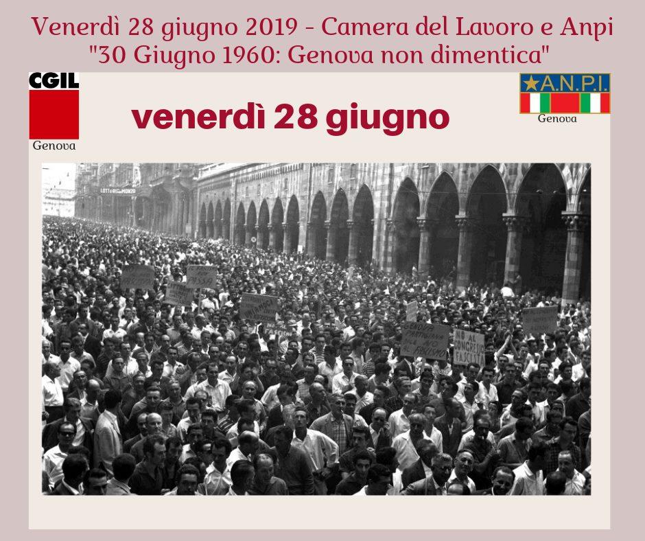 30 Giugno 1960 Genova non dimentica