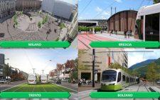 Da Milano a Bolzano, la riqualificazione urbana sale sul TRAM