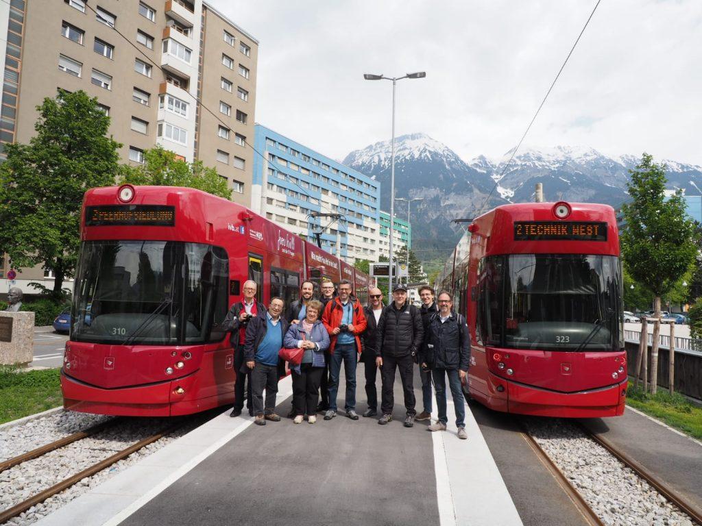 il gruppo di studio a Innsbruck