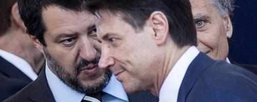 Chi predica male razzola peggio; l'ira di Conte sugli sconfinamenti di Salvini