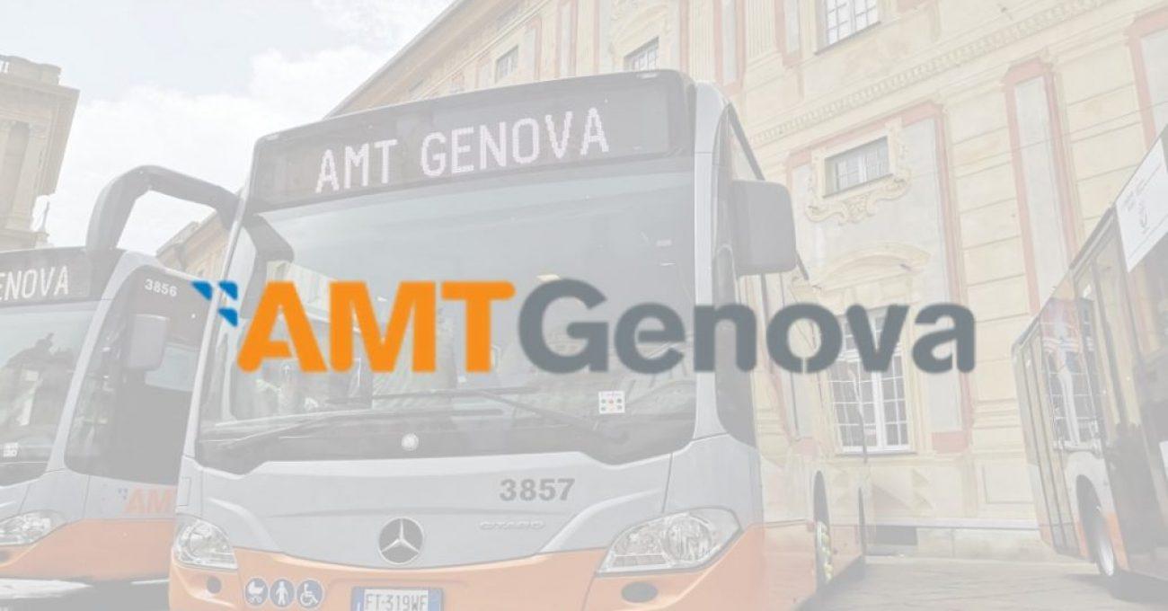 Gli avvisi di AMT Genova