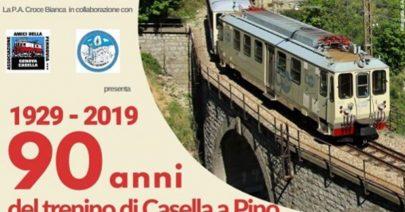 1929 - 2019_90 anni del trenino di Casella a Pino