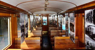 Compleanno Trenino di Casella mostra fotografica a bordo