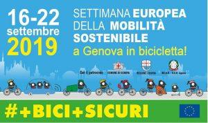 Settimana della mobilità sostenibile in bicicletta a Genova
