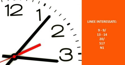 Variazioni di orari da lunedì 23 settembre