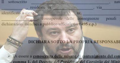 Coronavirus, Pastorino (Leu): Salvini oltre limite su autocertificazione-