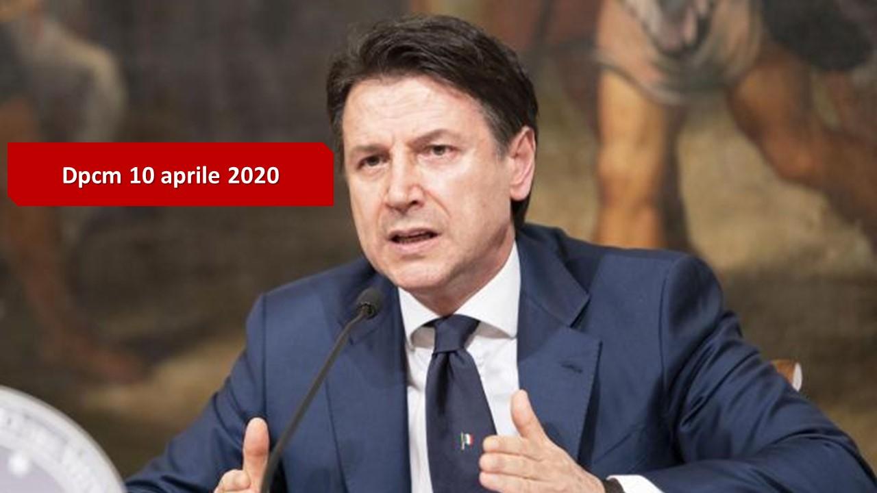 Coronavirus: il Dpcm del 10 aprile 2020 - Roberto Schenone