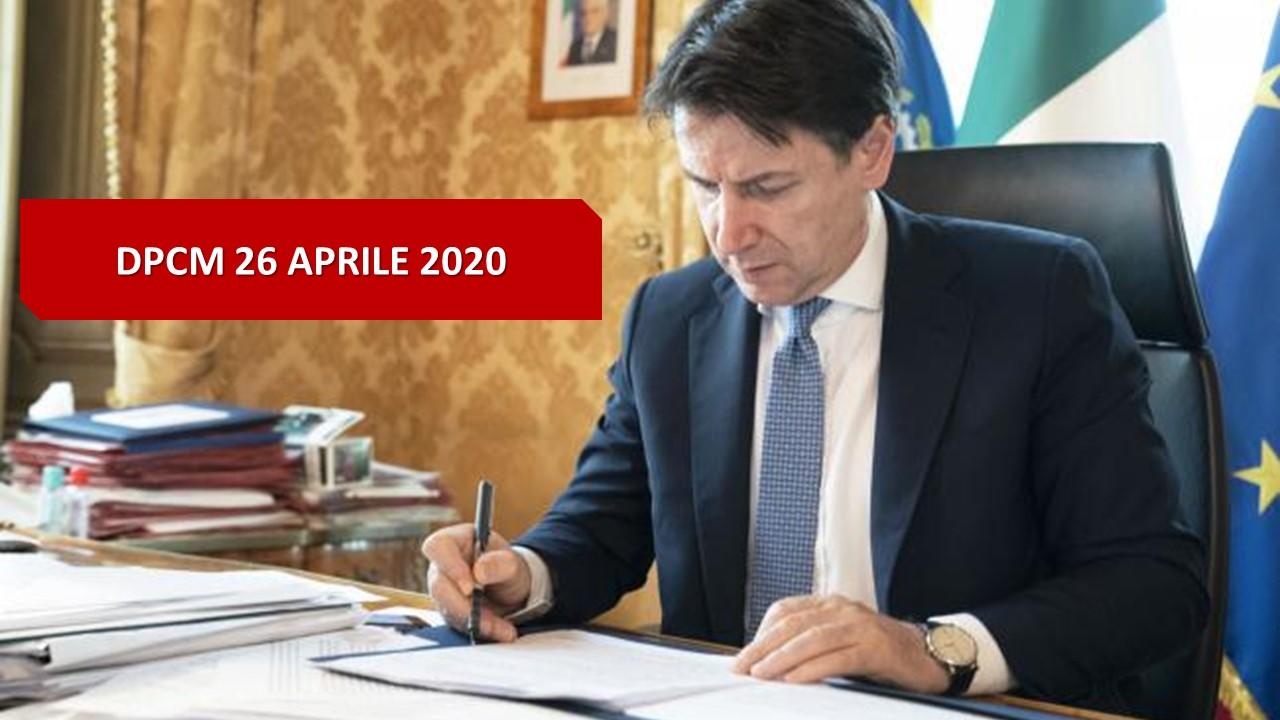Coronavirus, Fase 2: il Dpcm del 26 aprile 2020 - Roberto Schenone