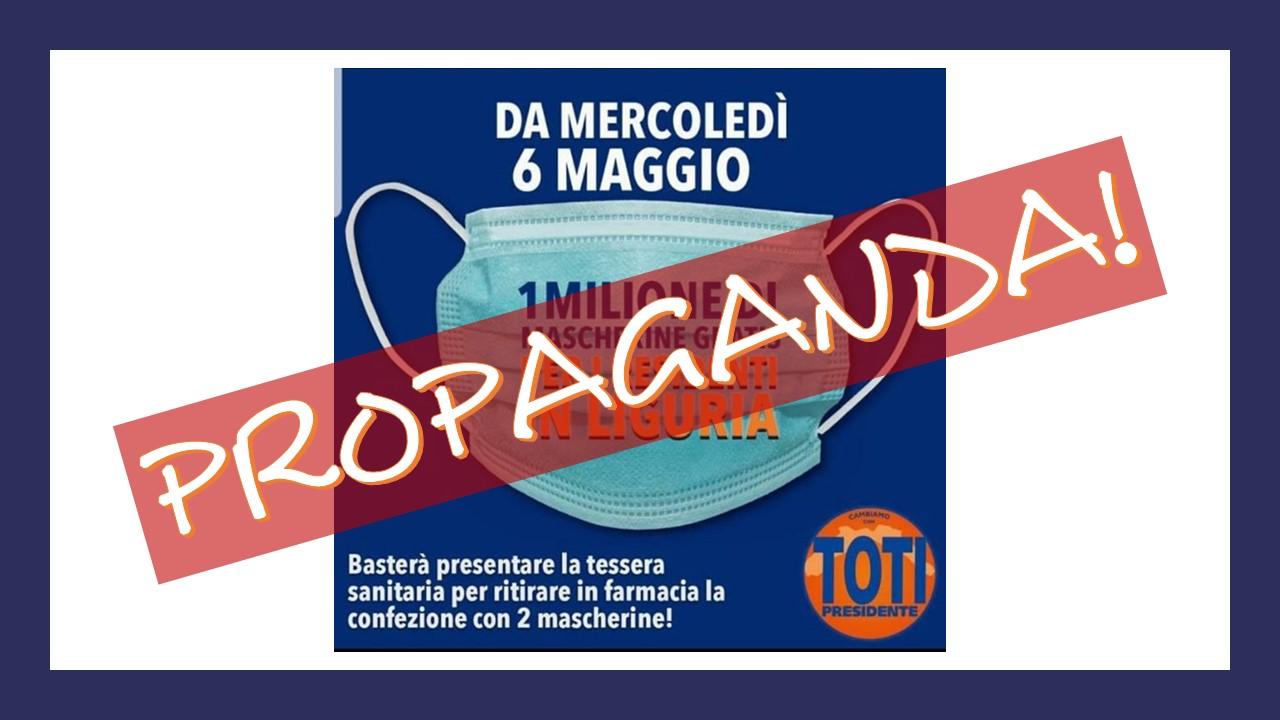 Coronavirus, Pastorino (Leu): Dopo mascherine elettorali, giunta Liguria prometterà seconde case? - Roberto Schenone