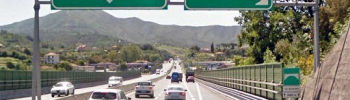 Autostrade: A12, Stop al pedaggio tra Chiavari e Sestri Levante