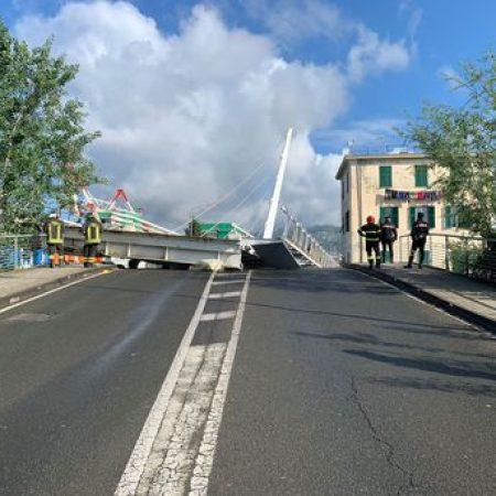 Crolla ponte levatoio di una darsena a Spezia, nessun ferito