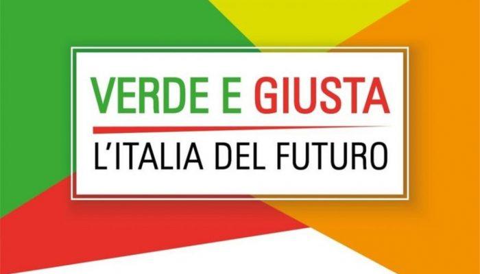 """""""Verde e Giusta, l'Italia del Futuro"""", Giovedì 10 giugno, dalle 17.30 alle 20"""