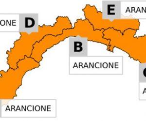 Allerta Meteo Liguria: dalle 18 si passa in arancione fino alle 14 del 28.07