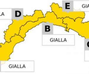 Allerta Meteo Liguria: declassata a GIALLA fino alle ore 13, poi cessata allerta su tutta la regione