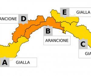 Allerta meteo Idrogeologica e nivologica: Arancione su B e D dalle 18 di oggi