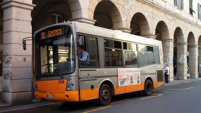 Avviso AMT Genova: Linea 52 variazioni di orario dal 1° agosto