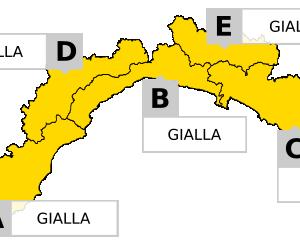 Meteo Liguria: Allerta GIALLA su tutta la regione dalle 18 del 27.07.19