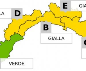 Bollettino allerta GIALLA per il 9 giugno 2020