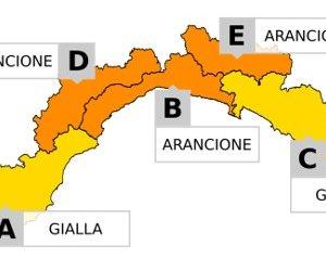 Bollettino allerta meteo arancione del 7 giugno 2020