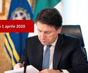 Coronavirus: il Dpcm del 1 aprile 2020